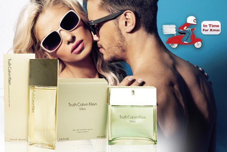 £17 instead of £52.51 (from Online Beauty Deals) for a 100ml bottle of Calvin Klein Truth Femme eau de parfum or Calvin Klein Truth Homme eau de toilette - save 68%