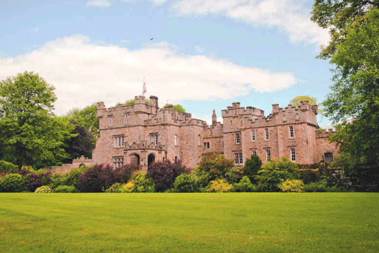 £89 for an overnight break for two with breakfast, £135 to include a three-course meal and £175 for two-nights with a meal at Otterburn Castle Hotel - save up to 36%
