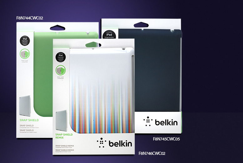 £8.99 instead of £25.98 for a Belkin Snap Shield iPad case from Wowcher Direct - save 65% + delivery is included!