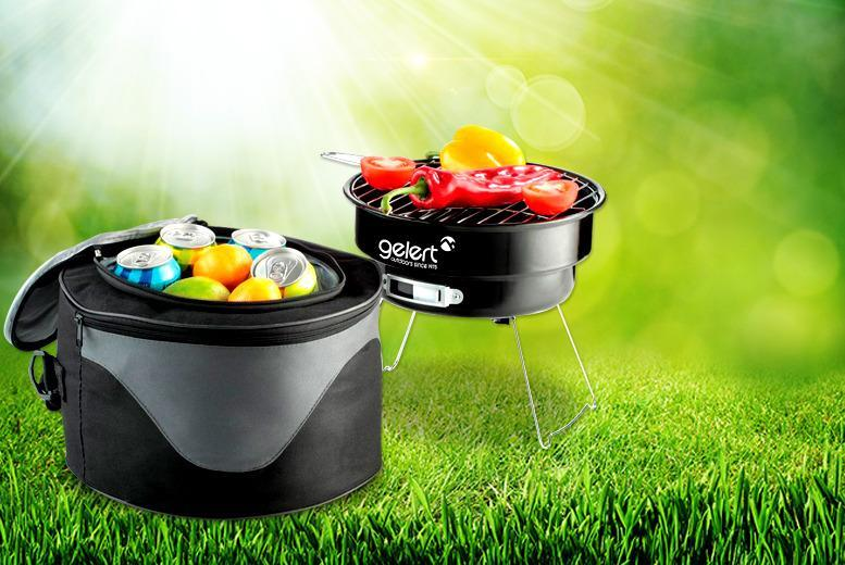£9.99 instead of £24.08 (from UK Camping) for a Gelert portable BBQ and cooler bag - cook up a storm this summer and save 59%