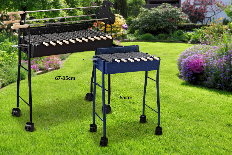 £45 instead of £89 (from Aosom) for a small charcoal barbecue or £59 for a large - save up to 49%