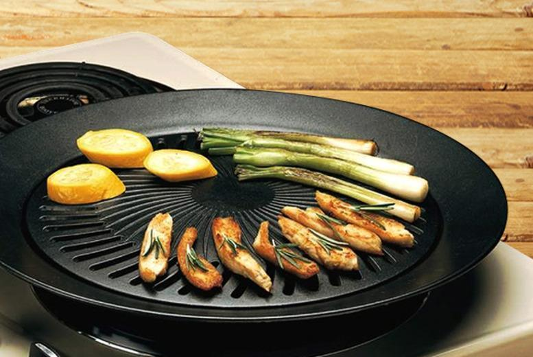 £8.99 instead of £29.99 (from Juggernet.com) for a smokeless stovetop barbecue grill - save 70%