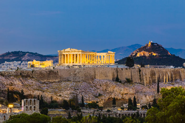 From £99pp (from WorldBound) for a 2-night Athens break including flights and breakfast, from £119pp for 3 nights - save up to 35%