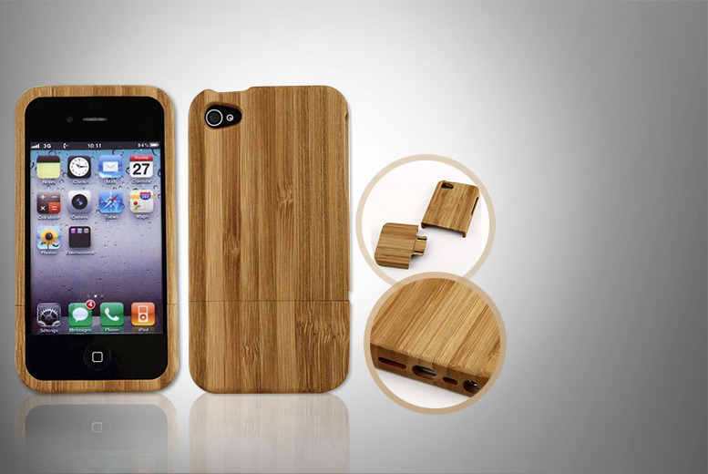 £6 instead of £39.99 (from Gizmo Gadgets) for a bamboo iPhone 5/5S case - save 85%