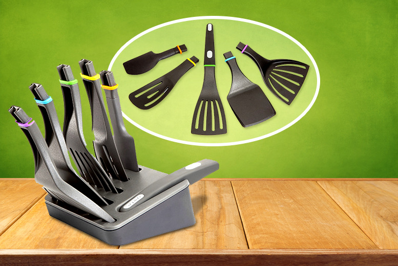 £14.99 instead of £24.99 (from 2tech) for a 7-piece 'Click N Cook' kitchen utensil set - cook up a storm and save 40%