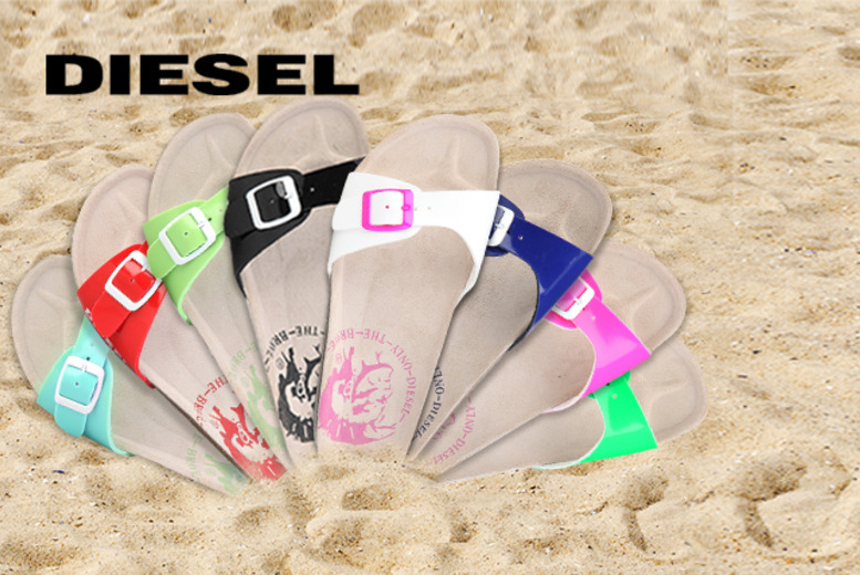 £22 instead of £60 (from Brands Store) for a pair of Diesel sandals - save 63%