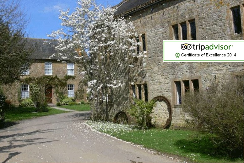 £59 (at Haselbury Mill, Crewkerne) for a 1-night stay for two with breakfast, or £99 for 2 nights - save up to 44%