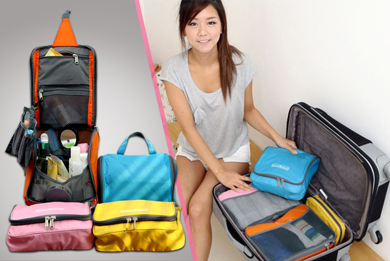 £6 instead of £23.99 (from Suga Rush Love) for a cosmetics travel bag - save 75%