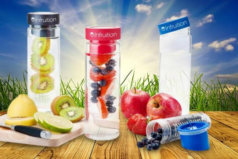 From £8.99 (from Shopperheads) for an Infruition™ fruit infusing water bottle, or from £16.99 for 2 bottles - save up to 63%