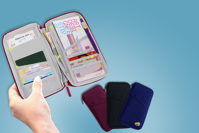 £5 instead of £14.99 (from London Exchainstore) for a travel passport holder, £8 for two - save up to 67%