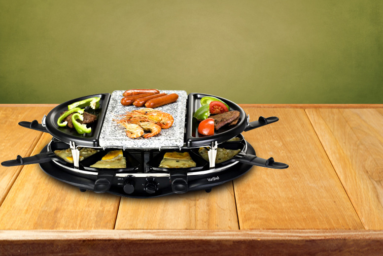 £33.99 instead of £84.99 (from Domu.co.uk) for a VonShef Stone Raclette Grill - save 60% + DELIVERY IS INCLUDED!