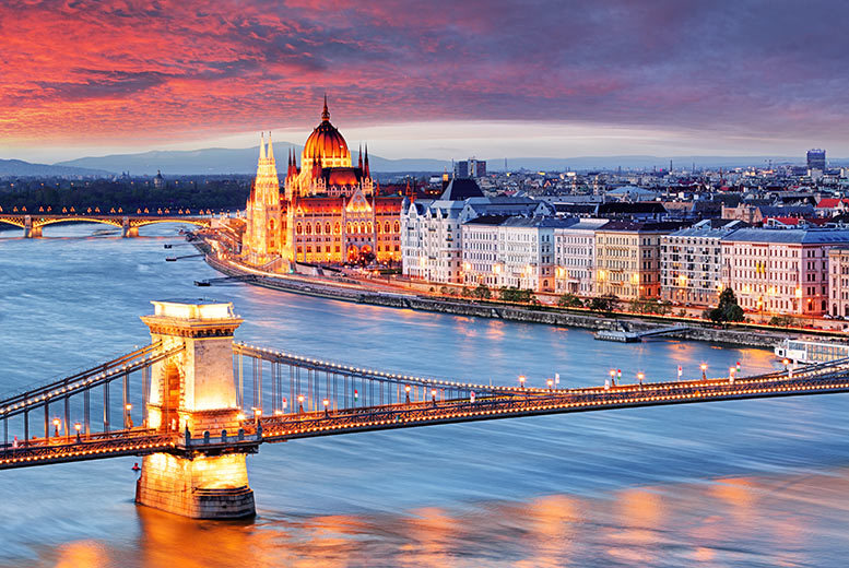 From £69pp (with Crystal Travel) for a two-night 4* Budapest break with with return flights, from £89pp for three nights - save up to 62%