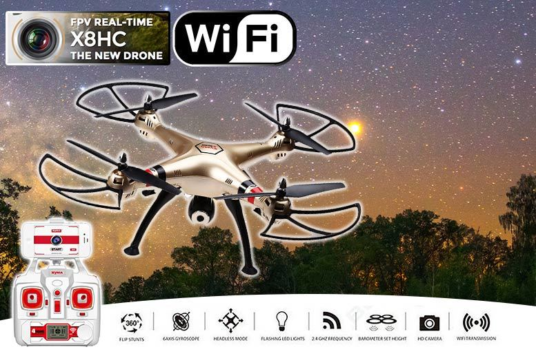 £89 instead of £253.15 (from Costzu) for a Syma X8HW quadcopter drone - save 65%