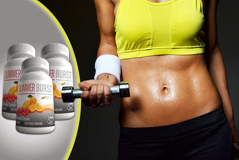 £24 instead of £149.97 (from GB Supplements) for a 3-month supply* of Summer Burst capsules - save 84% + DELIVERY INCLUDED!