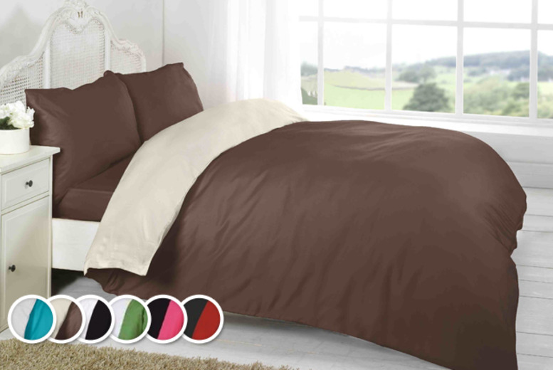 £10 instead of £34.99 (from Groundlevel.co.uk) for a single duvet set, £12 for a double or £14 for king size - save up to 71%