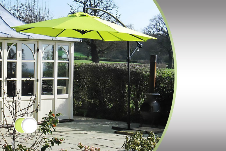 £59.99 instead of £199 (from Gadget Station) for a 3-metre banana parasol - save a cool 70%