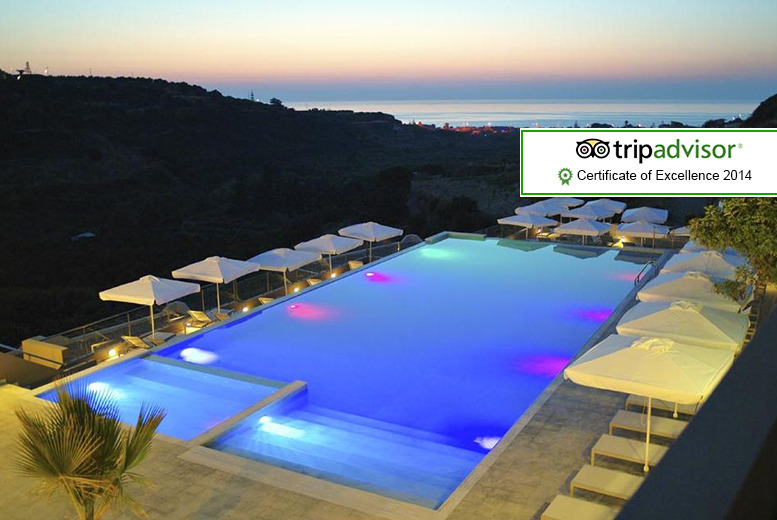 From £289pp instead of up to £435.78pp (from Your Holidays) for a 7nt 4* Crete break inc. flights and half-board accommodation - save up to 32%