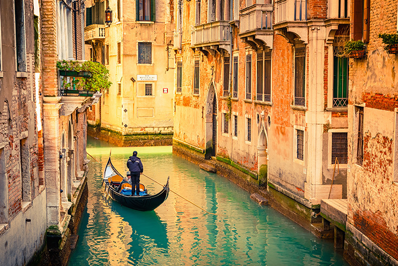From £109pp instead of up to £190pp (from ClearSky) for a 2nt Venice break inc. flights, breakfast and a gondola ride, from £149pp for 3nts - save up to 43%