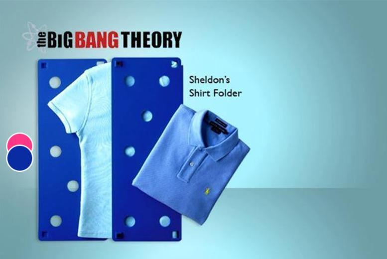 £7.99 instead of £30.99 (from London Exchainstore) for Sheldon's shirt folder as seen on <i>The Big Bang Theory</i> - save 74%