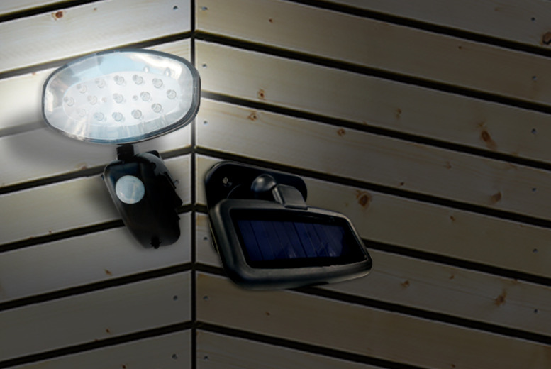 £14.99 instead of £34.99 (from Zoozio) for a 15-LED motion sensor security light - save 57% + DELIVERY INCLUDED!