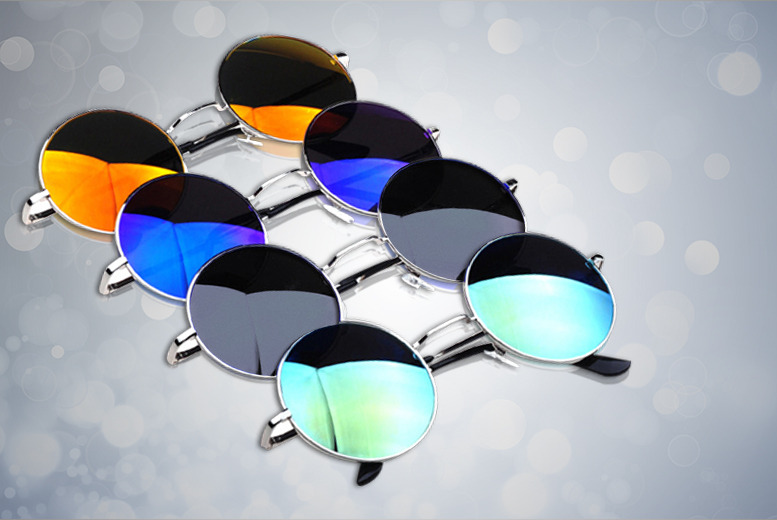 £6 instead of £40 (from Cerichic) for two pairs of retro sunglasses in a choice of ten styles - save a sunny 85%