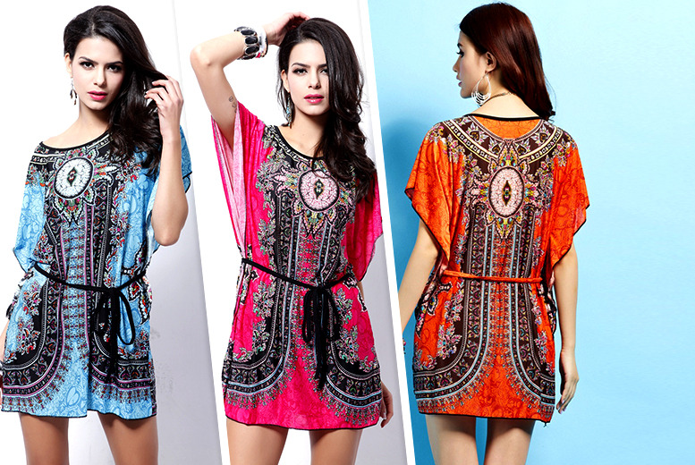 £9.99 instead of £45 (from Alvi's Fashion) for a paisley kaftan in a choice of 3 colours - save 78%