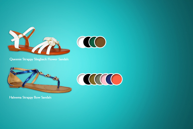 £7.99 instead of £19.99 (from By Public Demand) for a choice of sandals inc. jelly flip flops, bow sandals and more - save 60%