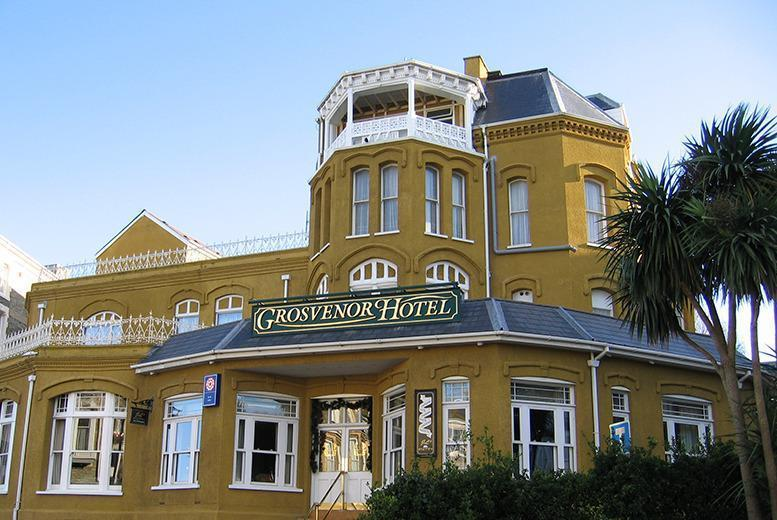 £99 for a 2-night stay for 2 including breakfast and a 3-course dinner on your first night at The Grosvenor Hotel, Ilfracombe