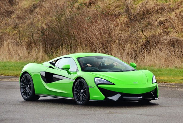 £125 for a Mclaren 570S Driving Thrill at a choice of five locations from Buyagift!