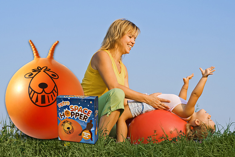 £9.99 instead of £24.99 (from Stock Nation) for a retro orange space hopper and hand pump - save a bouncing 60%