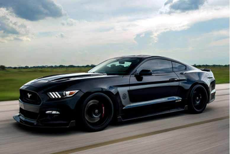 £39 instead of £99 for three laps in a Ford Mustang GT V8 as seen in the Transformers with Car Chase Heroes - choose from eight UK locations and save 61%
