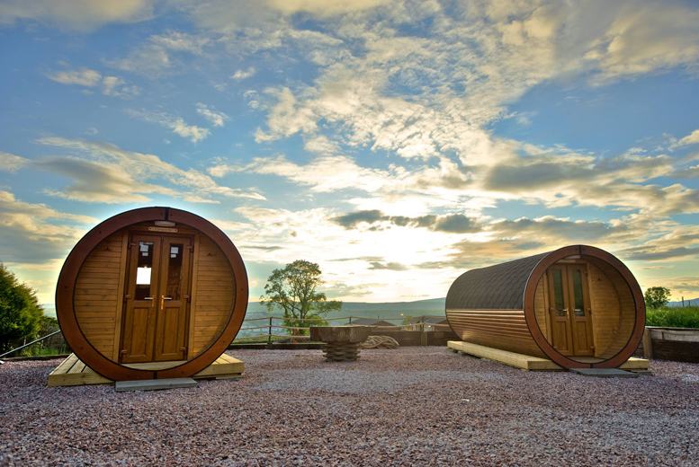 From £65 for a two-night Isle of Bute glamping break for up to four people, £85 for three nights at Roseland Holiday Park - save up to 32%
