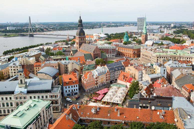 From £89pp (from Major Travel) for a 2-night break in Riga, Latvia inc. 3* accommodation, return flights and daily breakfast - save up to 26%