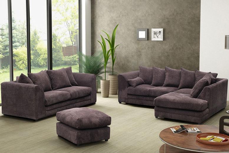 jumbo cord sofa
