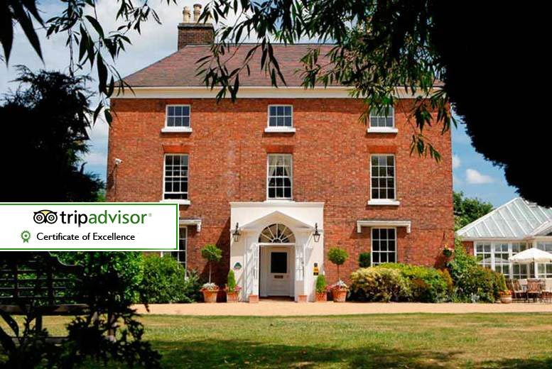 £79 for an overnight Shropshire stay for two with breakfast, £154 for a two-night stay at The Hadley Park House Hotel, Telford - save up to 50%