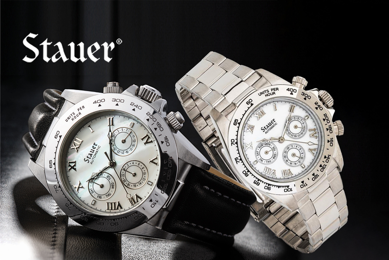 Stauer Luxury Automatic Watch Deal Price £ 129.00