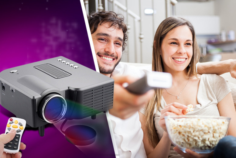 £59.99 instead of £129.99 (from Eurosfield) for an LED digital home mini projector and remote control - save 54%