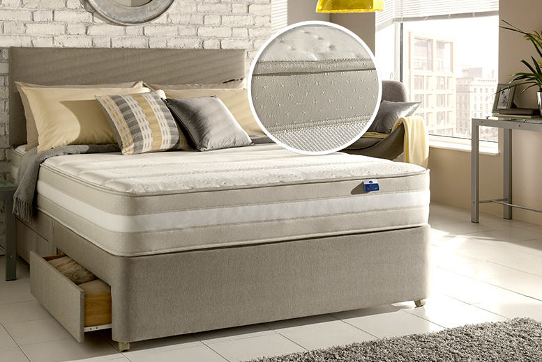 £199 instead of £292.96 for a single Silentnight memory foam mattress, £249 for double, £299 for a king from Wowcher Direct - save up to 32%