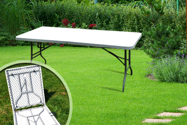 £39.98 instead of £99.99 (from Wowcher Direct) for a 6ft folding trestle table - save 60% + DELIVERY IS INCLUDED