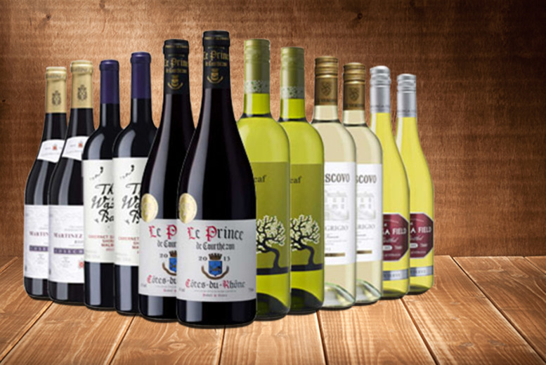 £49 instead of £101.48 (from Laithwaite's Wine) for 12 bottles of white or red wine - save 52%