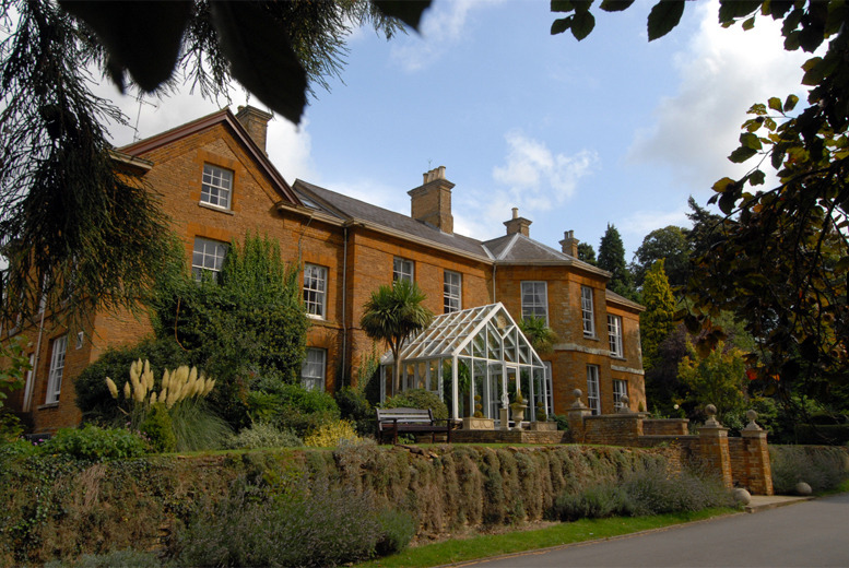 £89 for an overnight stay for 2 with wine, 2-course dinner & breakfast, £104 inc. afternoon tea at Sedgebrook Hall, Northampton - save up to 29%