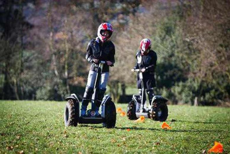 £34 for a 30-minute Segway experience for 2, £59 for 4 people at Tank Driving Scotland, Dundee