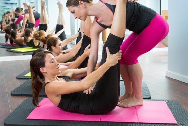 £14 for five 1-hour fitness classes inc. Pilates and Hot Yoga at Fitness Fusions - choose from 3 locations!
