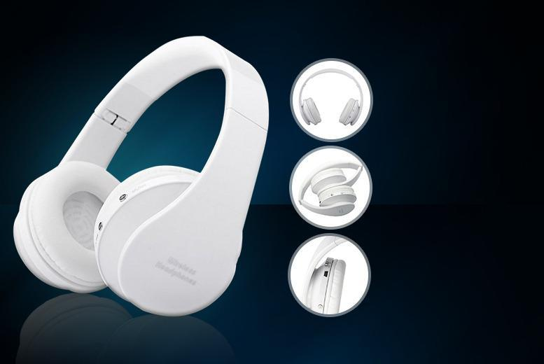 £19.99 instead of £99.99 (from D2D) for a pair of wireless Bluetooth over ear headphones - save 80%