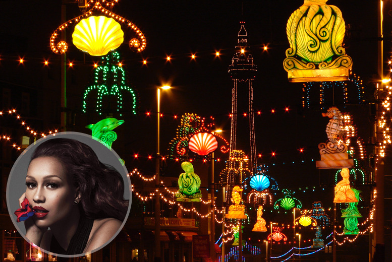£7 for an adult day pass to Blackpool Illuminations Switch-On Festival 2014, £12 for a weekend pass or £29 for a family weekend ticket - save up to 53%