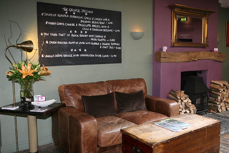 £59 (at The George Hotel, near Stratford-upon-Avon) for a 1-