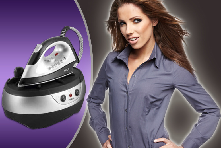 £49.99 instead of £99.99 (from AMS Global) for a Pifco P22003 steam generator iron – save 50% + Delivery is included!