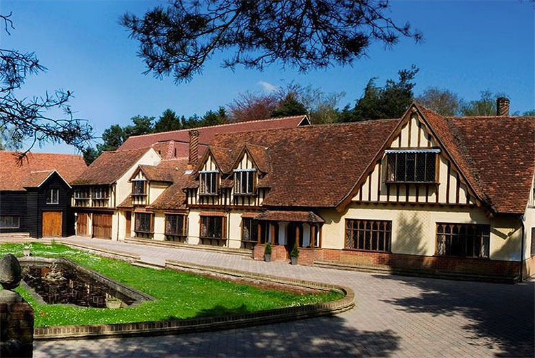 £109 (from Great Little Breaks) for an 1nt stay for 2 inc. dinner, b'fast, cream tea & Pimms at The Legacy Great Hallingbury Manor Hotel - save 36%