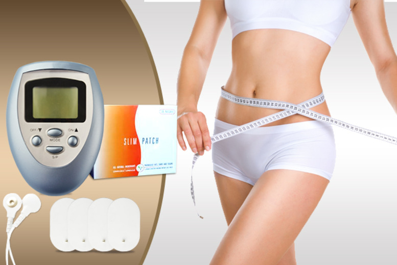£16 instead of £79.98 (from Quick Style) for a 1-month* supply of magnetic tummy patches inc. a body massager - save 80%