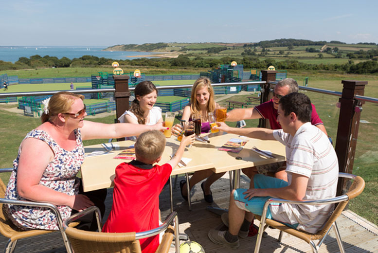 From £59 (with Park Resorts) for a 4nt midweek self-catered UK or Isle of Wight break for up to 6 people, or from £69 for a 3nt weekend break - save up to 71%